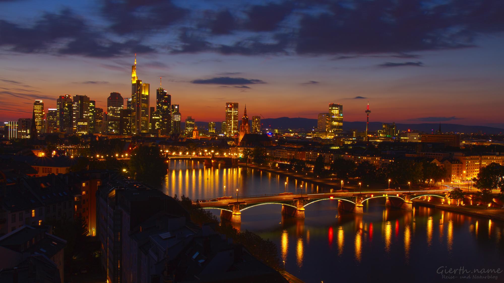 Frankfurter Sonnenuntergänge