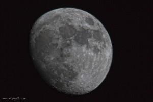 Mond über München