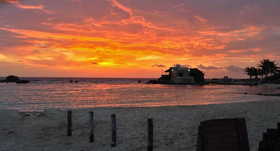 Sonnenaufgang auf der Isla Mujerez