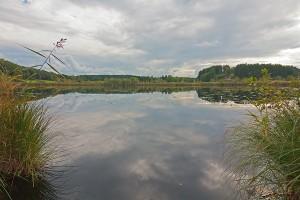 Siferlinger See im Frühherbst