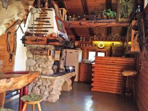 Kleine Hütten auf der Bachl-Alm
