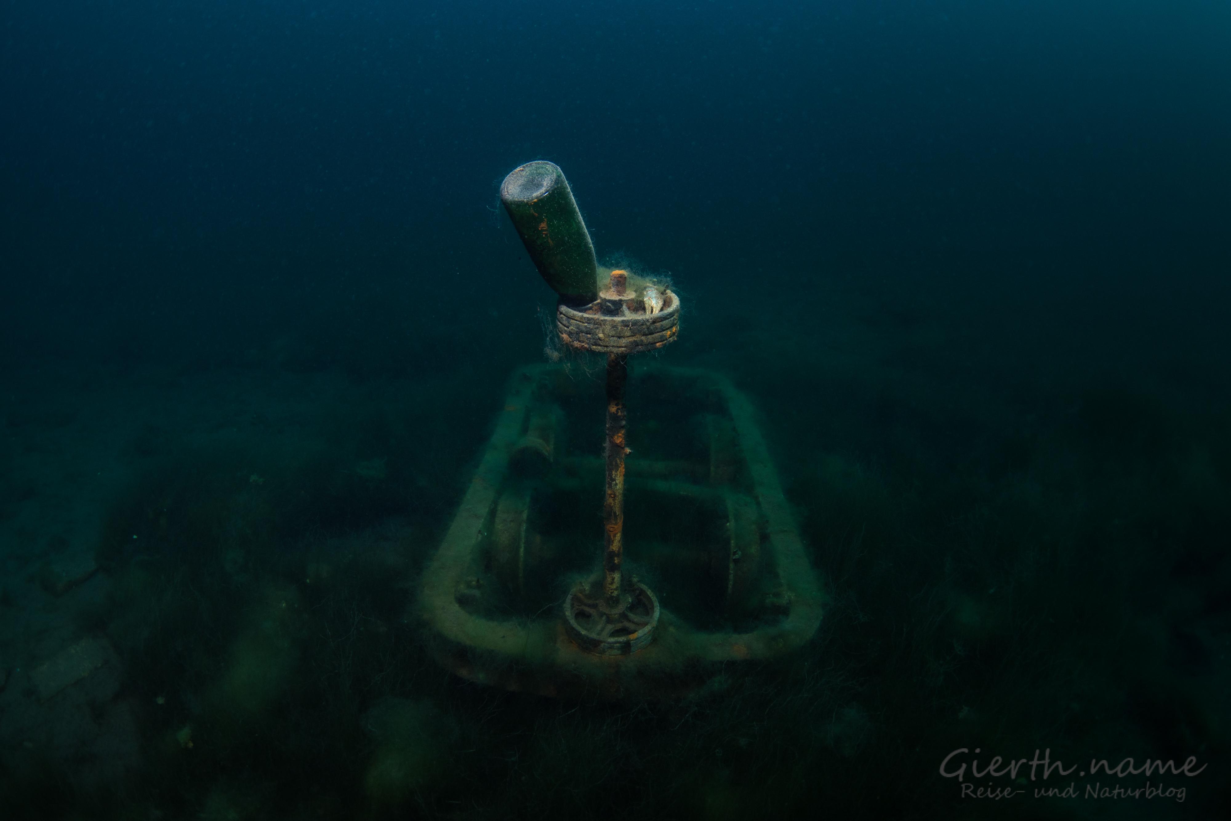 Bei 2,5 bar eine Unterwasserbar...