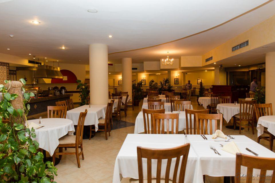 Speisesaal des Flamenco Beach Resort