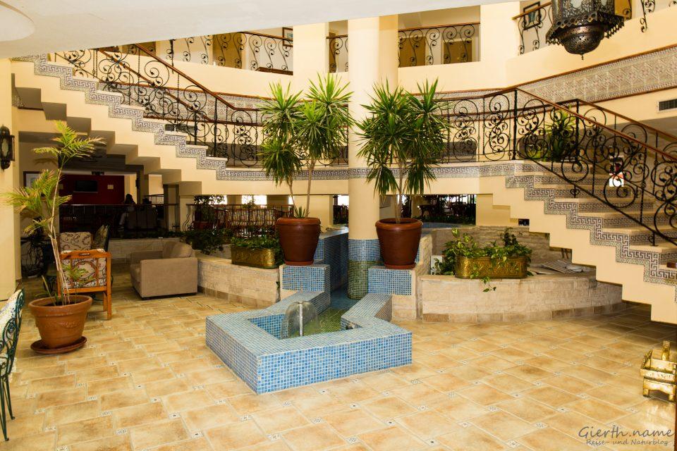 Lobby des Flamenco Beach Resort