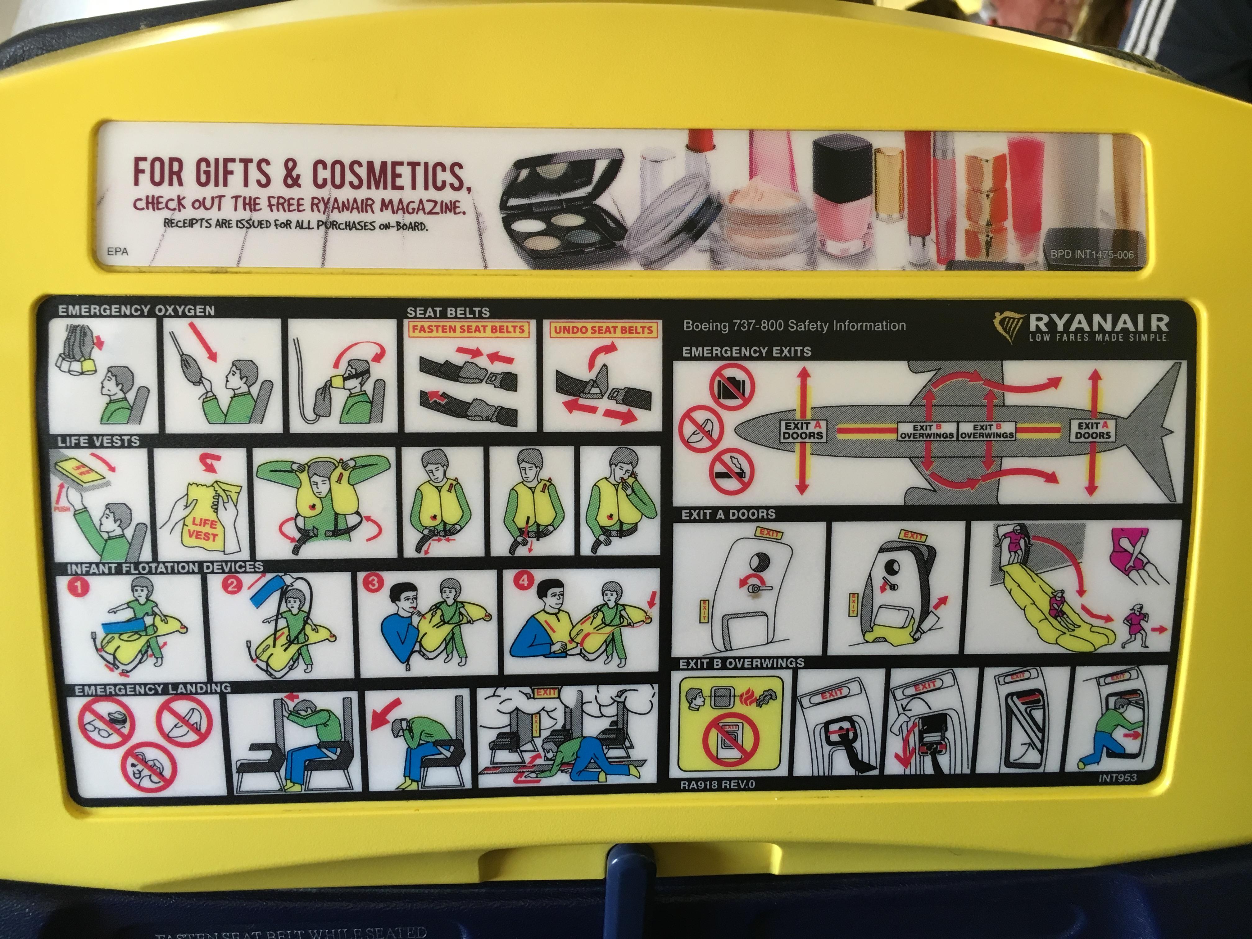 Ryanair-Design zum gruseln