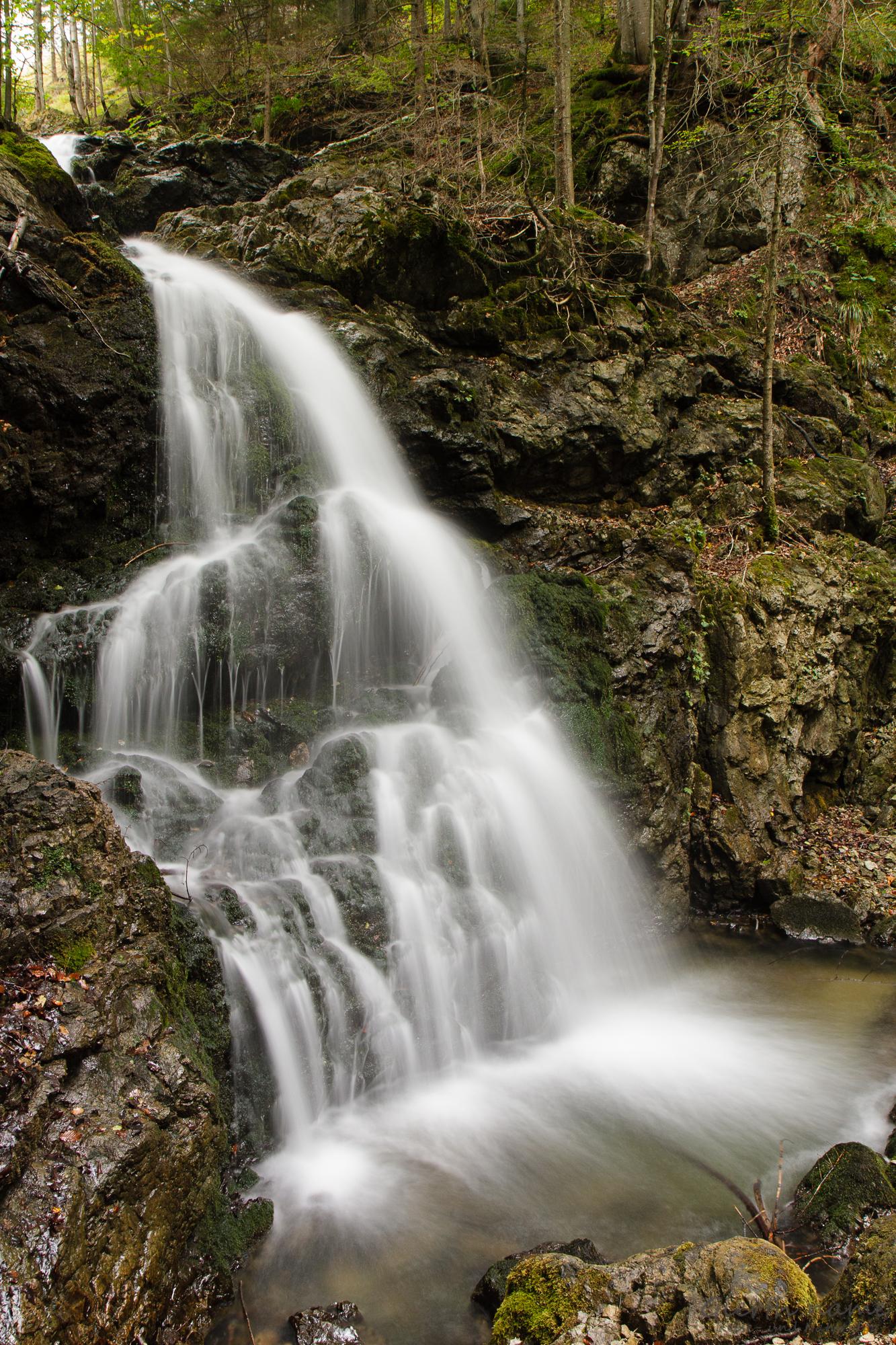 Josefsthaler Wasserfälle, obere Stufe