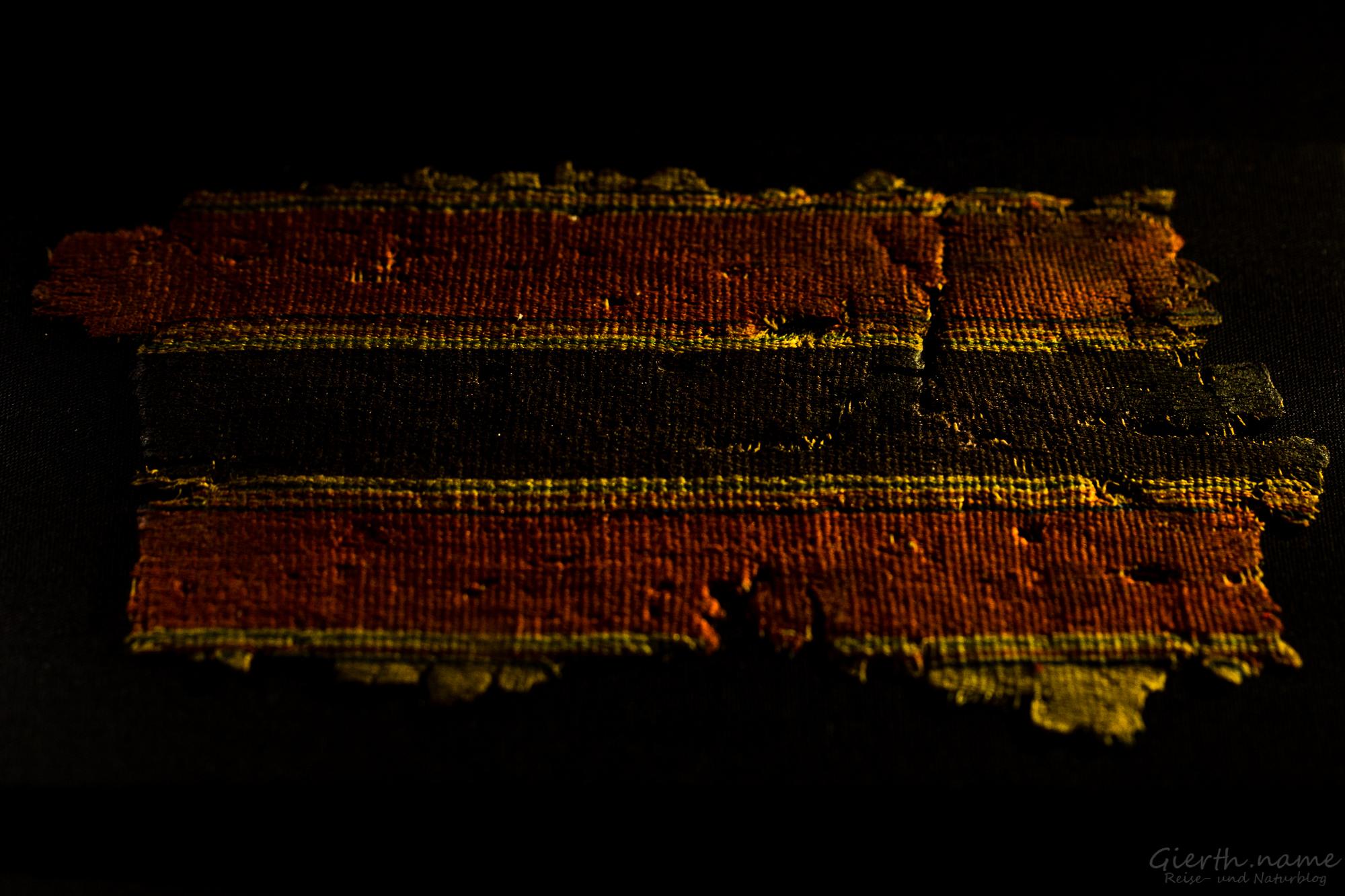 Über 2000 Jahre alter Stoff