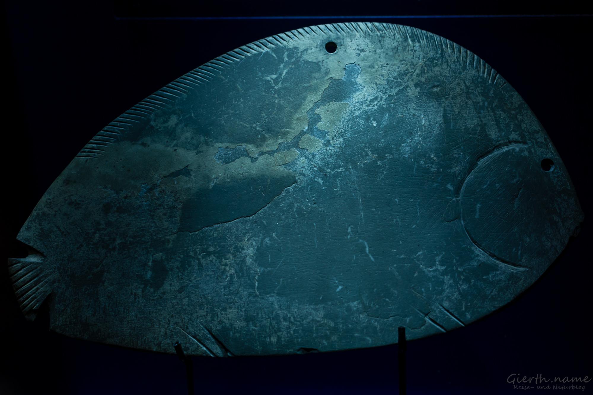 Schminkplatte in Fischform