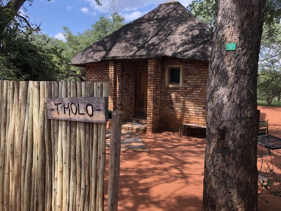 Tholo, unser Häuschen im Mashatu Camp