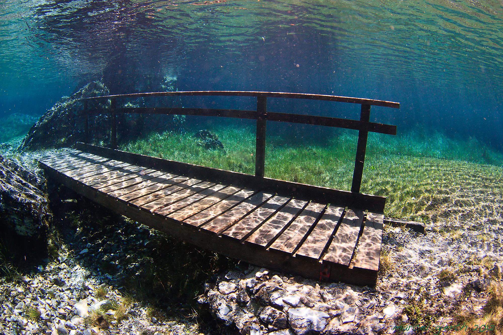 Grüner See - Brücke