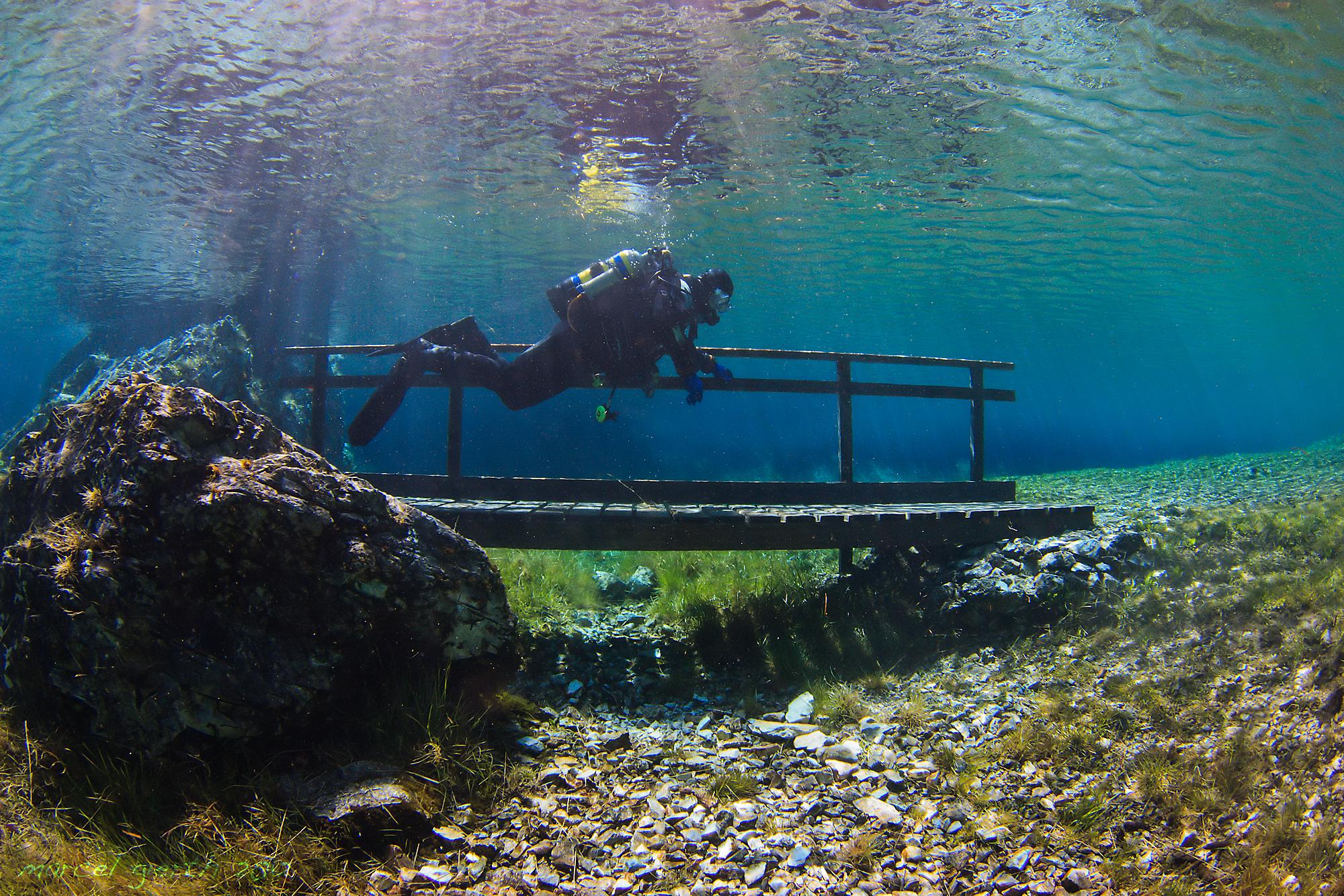 Tauchverbot im Grünen See in Tragöß