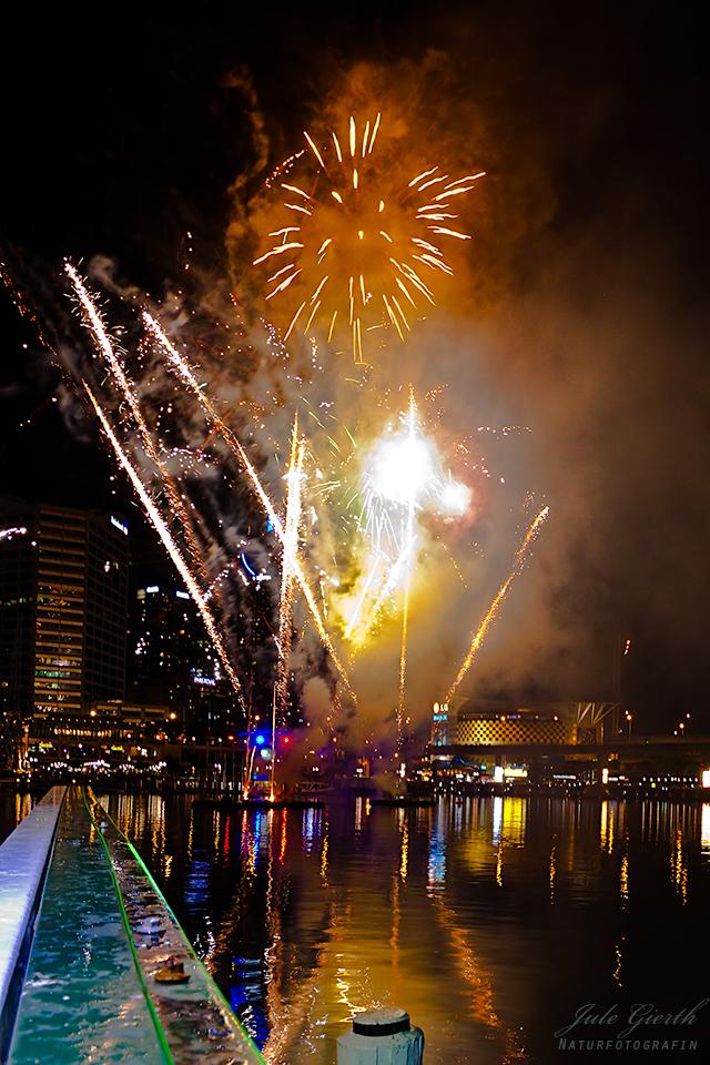 Feuerwerk Darling Harbour