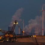 Absetzer vor Kraftwerken