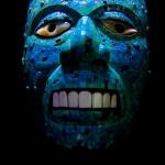Maske im Museum