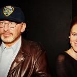 Spielberg und Drew Berrymoore bei Madam Tussauds...