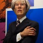 Andy Warhol bei Madam Tussauds...